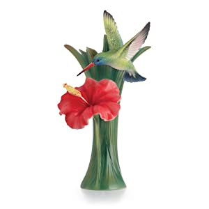 Amazon.com: Franz Hummingbird Sculptured Porcelain Small Vase