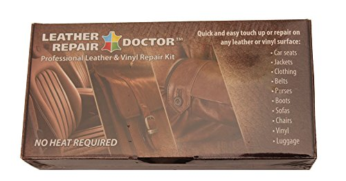 video review leather repair kit 7 color no heat fast drying professional leather and vinyl. Black Bedroom Furniture Sets. Home Design Ideas