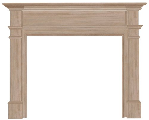 Best Price! Pearl Mantels 120-48 Windsor 48-Inch Fireplace Mantel Surround, Unfinished