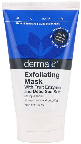 derma e Natural Bodycare Cleansing Enzyme Facial Mask, 4 Ounce Tubes