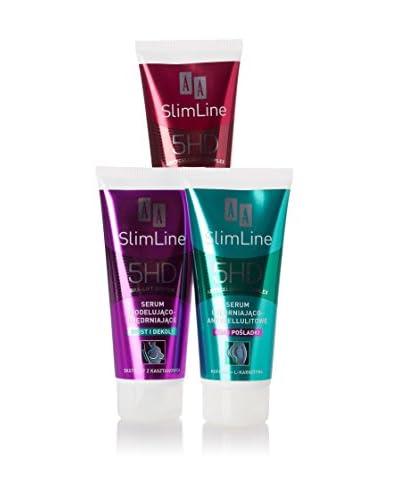 AA Cosmetics Trattamento Anticellulite 3 pezzi SlimLine 5HD