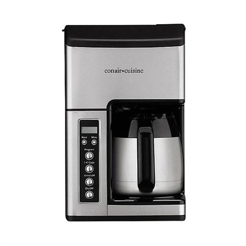 Cuisinart Coffee Maker Quit Brewing : Conair Cuisine Grind & Brew 10-Cup Coffeemaker CC-10FR Reviews Best coffeemakers