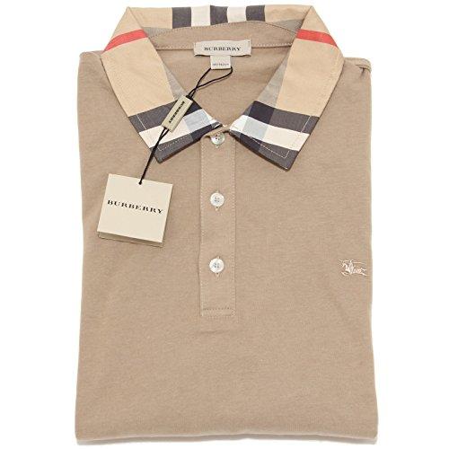 5545I polo bimbo BURBERRY manica lunga maglie t-shirts kids [14 ANNI]