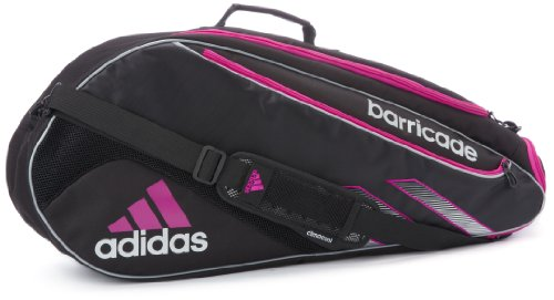 Adidas Barricade III Tour 3 Tennis Racquet Bag BlackVivid ...