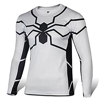 CrazyPomelo Future Spider Man Long T-shirt For Men