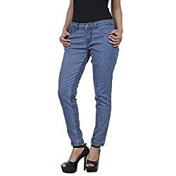 freeSpirit Women's Straight Fit Jeans (30)