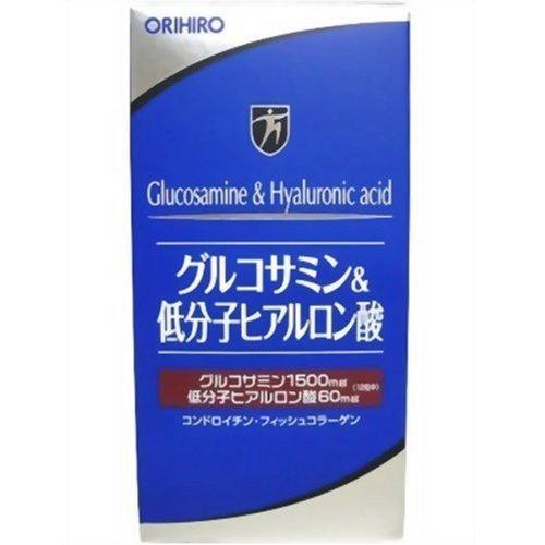 オリヒロ グルコサミン&ヒアルロン酸 36日分