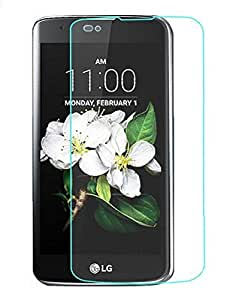 Royal Touch TM LG K7 TEMPERED GLASS SCREEN PROTECTOR/BUBBLE FREE APPLICATION/HOLE FOR FRONT PROXIMITY SENSOR/NO HANGING PROBLEM/HIGH QUALITY JAPANES AGC GLASS MATERIAL