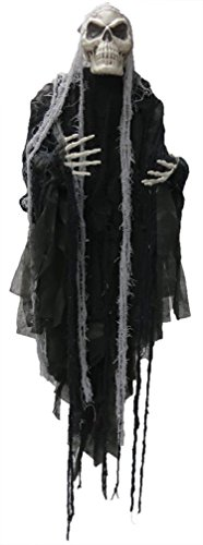 Morris Costumes Halloween Outfit Hanging Reaper Long Hair 5ft
