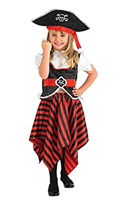 Raggy Pirate Girl - Childrens Fancy Dress Costume