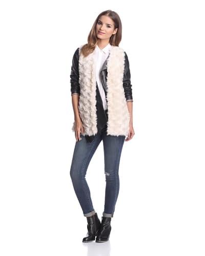 Clique Couture Women's Long Faux Fur Vest