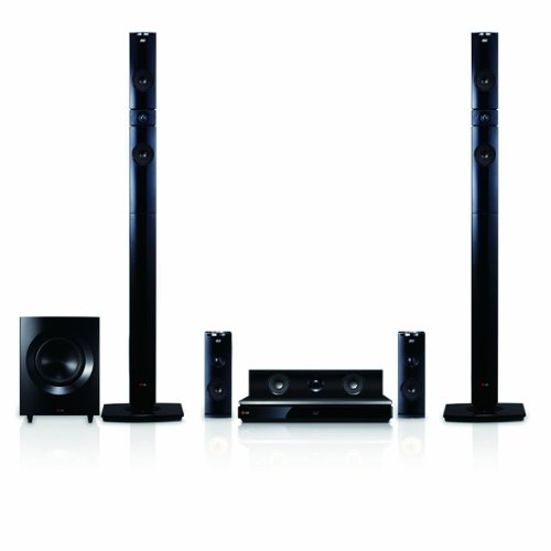 Lg Bh9431Pw 1460W 3D Blu-Ray Theater System With Smart Tv, Sound, Wireless Rear Speakers, Tall Fronts (Black Cones)
