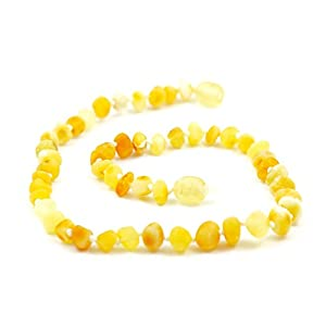 """Hazelaid (TM) 12"""" Baltic Amber Super Butter Necklace from Hazelaid"""