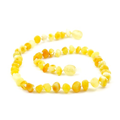 "Hazelaid (TM) 12"" Baltic Amber Super Butter Necklace - 1"