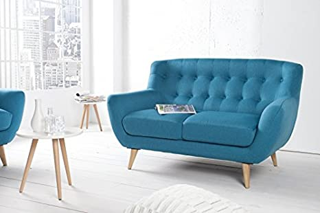 DuNord Design sofá 2 plazas petróleo STOCKHOLM