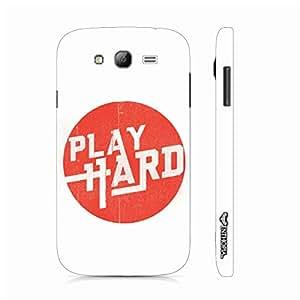 Samsung Galaxy J5 Work Hard Play Hard designer mobile hard shell case by Enthopia