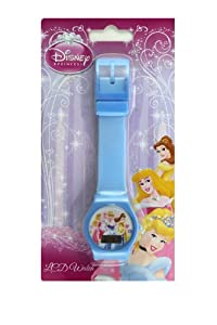 Baby Blue Jelly Band Disney Princess Watch - Childrens Digital Watch [Toy]