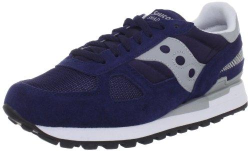 Saucony - Shadow Original, Scarpe da Trail Running Unisex - Adulto, Blu (Blau (Blau)), 43