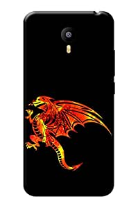 YU Yunicorn Cover, Premium Quality Designer Printed 3D Lightweight Slim Matte Finish Hard Case Back Cover for YU Yunicorn + Free Earphone Cable Organizer
