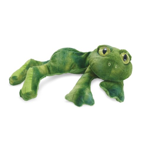 Manhattan Toy Lanky Reptiles Finch Frog Plush - 1