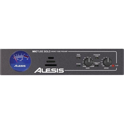 Alesis Mic Tube Solo Mono Tube Microphone Preamplifier
