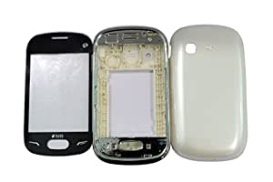 TOTTA Replacement Full Body Housing Back, Body Panel For Samsung Rex 70 S3802 - White