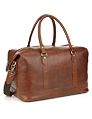 Leather Oversized Holdall