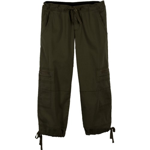prAna Women's Presley Capri, Brown, 10