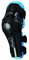 SixSixOne Nitro Knee Moto Knee Guard (Black, One Size)