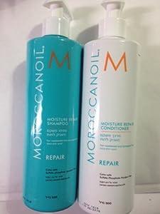 Moroccan Oil Moisture Repair Shampoo and Conditioner 16.9 Oz