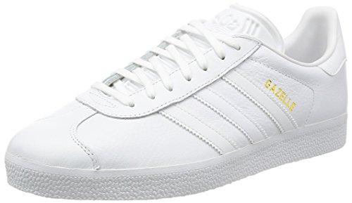 adidas Gazelle Scarpa white/gold