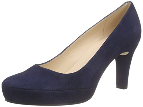 UnisaNUMAR_16_KS - Scarpe con Tacco Donna , Blu (Blu navy), 40