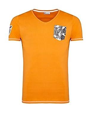 Nebulus Camiseta Manga Corta (Naranja)