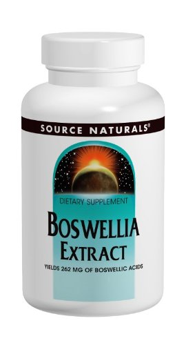 Source Naturals Boswellia Extract, Boswellic Acids 243 mg, 100 Tablets (Pack of 2)