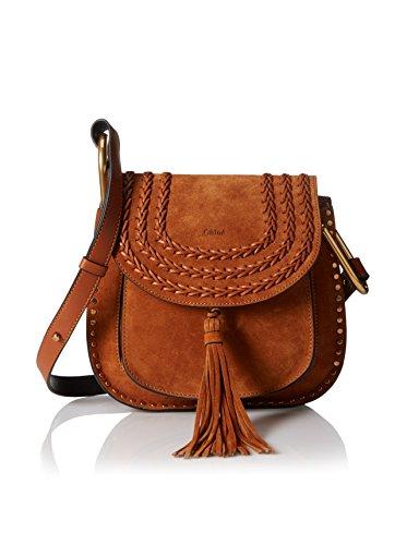 Chloé Women's Hudson Small Shoulder Bag, Caramel