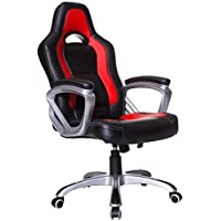 Cherry Tree Racing Sport Office Chair in Black and Red