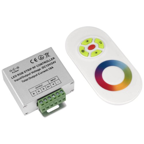 Wireless Rf Touch Remote Controller For Led Rgb Strip 12-24V 18A Ld180