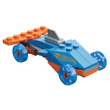Mega Bloks Hot Wheels Series 1 Dragster (91766) -28 pcs