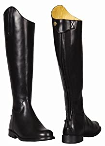 TuffRider Women's Baroque Dress Boots, Black, 8 Regular