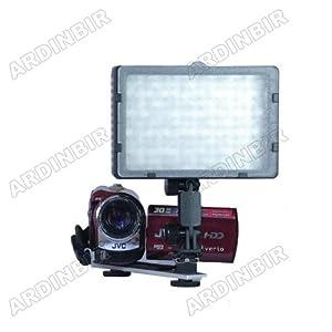 Pro LED Video Light Lite for Sony DCR-DVD650, DVD850, DVD710, DVD108, DVD610, DVD405, DVD505, DVD105, DVD308, DVD403, DVD92, DVD408, DVD201, SX40, SX44, SX63, SX60, SX83, SX41