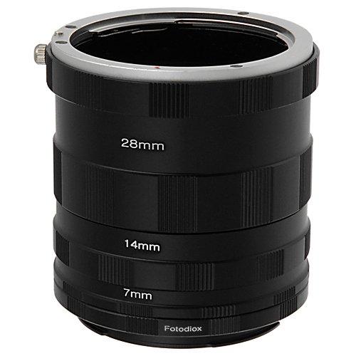Fotodiox Canon Eos Macro Extension Tube Set For Extreme Close-Ups