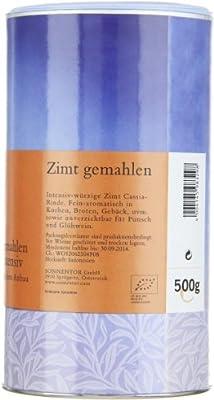 Sonnentor Zimt Cassia gemahlen Gastrodose, 1er Pack (1 x 500 g) - Bio von Sonnentor auf Gewürze Shop