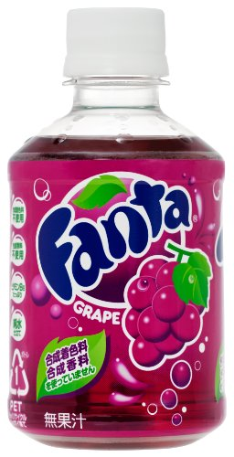 Coca Cola Fanta grape 280ml×24 book