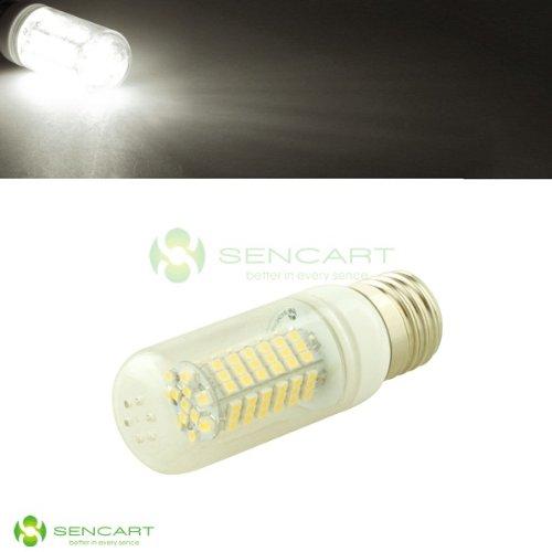 E27 Led 12V-24V 102 Smd 3528 W/Cover 5W Energy-Saving White Light Bulb