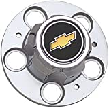 41gB%2BnKfJ8L. SL160  5 lug Chevy Truck Rally wheel bowtie center caps