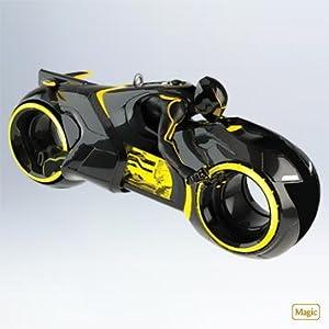 Clus Light Cycle Tron 2011 Hallmark Ornament - QXD1067