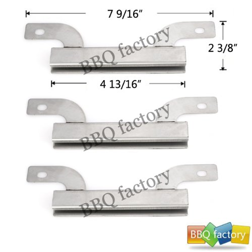 09425(3-Pack) Stainless Steel Crossover Tube Replacement For Select Gas Grill Models By Brinkmann, Charmglow And Others