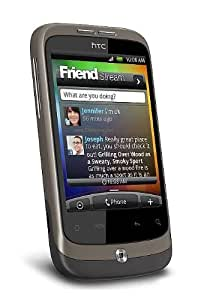 HTC A3333 Wildfire - Brown Touchscreen Unlocked GSM Cell Phone