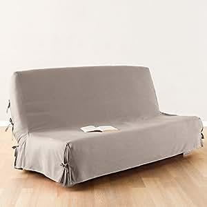 fodera rivestimento per divano letto copridivano letto 100 cotone colore beige. Black Bedroom Furniture Sets. Home Design Ideas