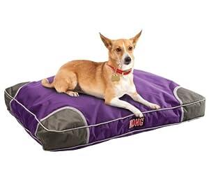 KONG Chew Resistant Heavy Duty Pillow Bed PURPLE